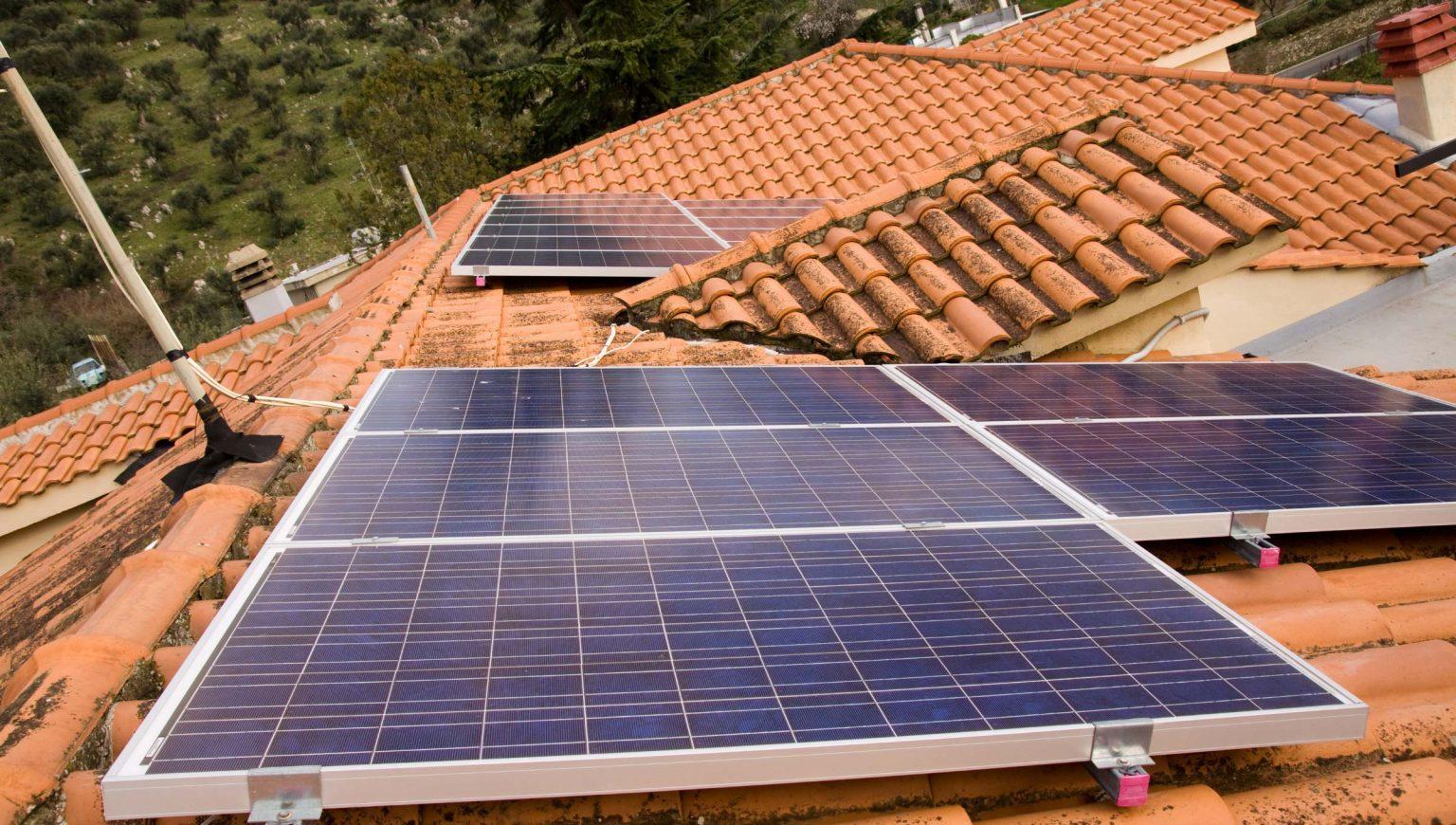 Pannelli Solari su Casa