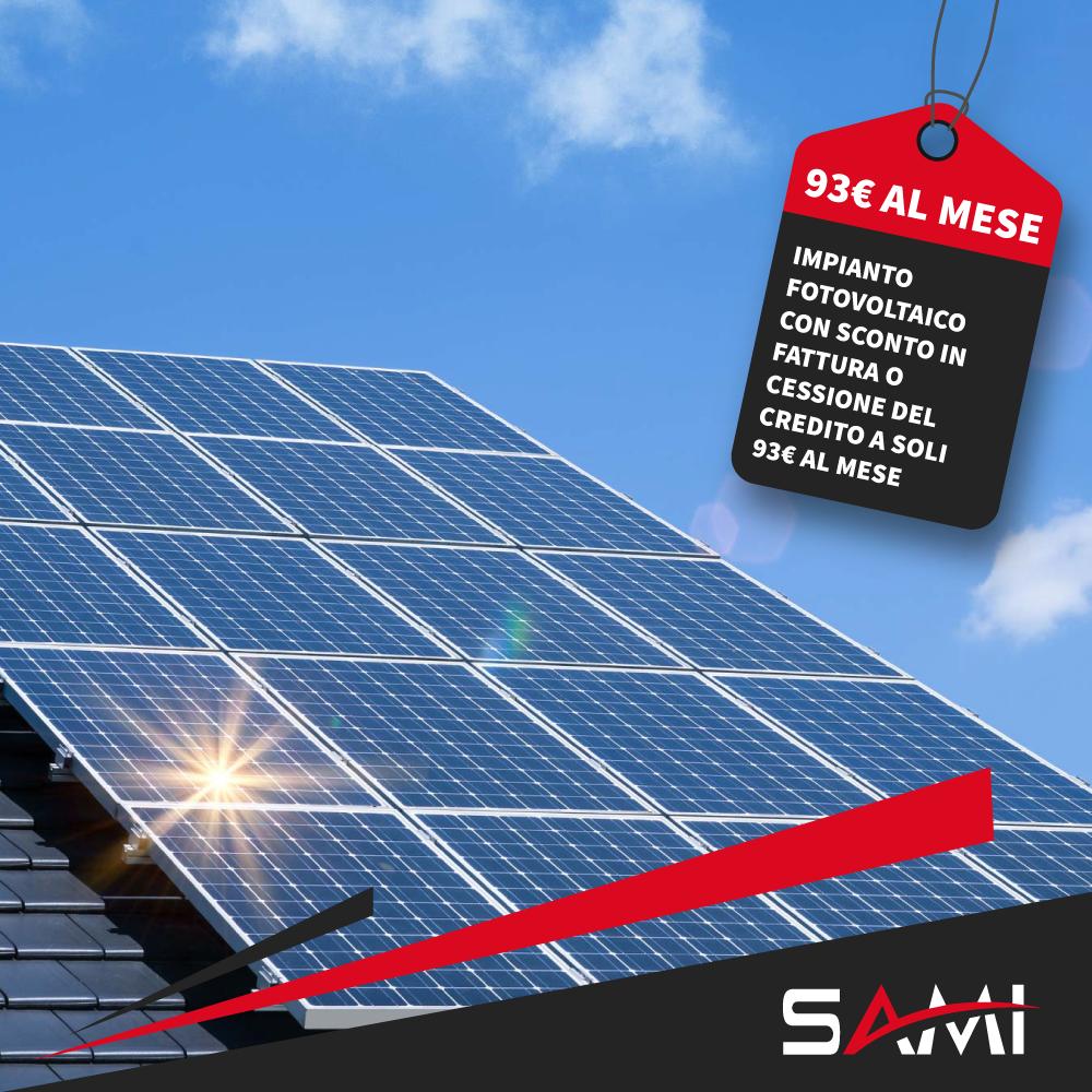 Offerta Fotovoltaico